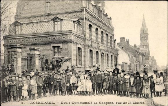Ansichtskarte postkarte rosenda l dunkerque nord cole for Rue des garcons