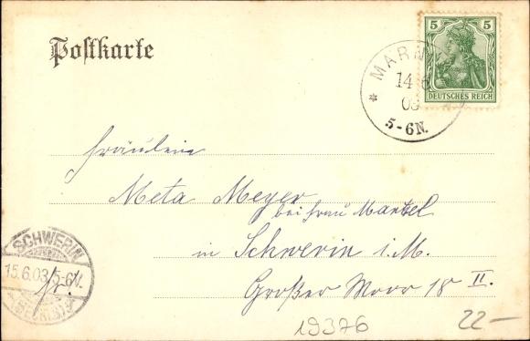 Ansichtskarte / Postkarte Marnitz in Mecklenburg | akpool.de