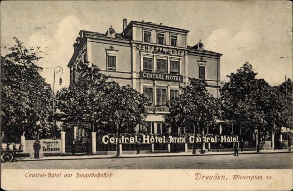 Ansichtskarte postkarte dresden zentrum altstadt for Dresden hotel zentrum