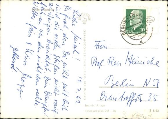 Ansichtskarte Postkarte Berlin Köpenick Müggelheim Akpoolde