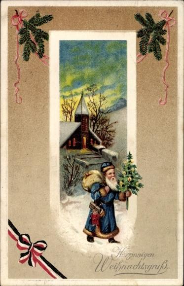 pr ge ansichtskarte postkarte frohe weihnachten. Black Bedroom Furniture Sets. Home Design Ideas