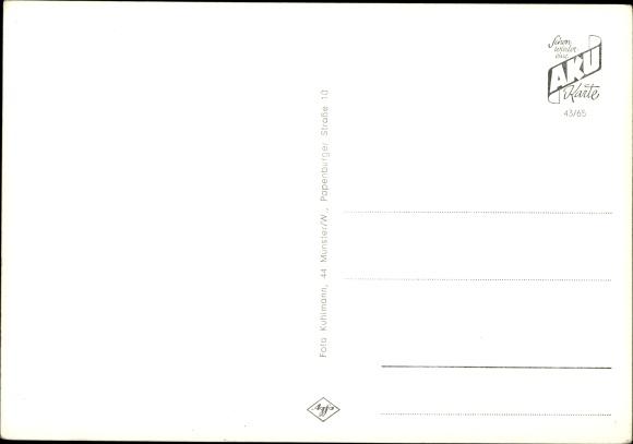 Ansichtskarte / Postkarte Steinbeck Recke Westfalen, Kath