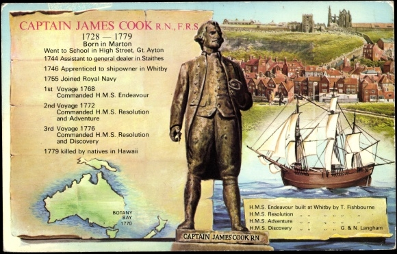the life and times of english captain and sailor james cook