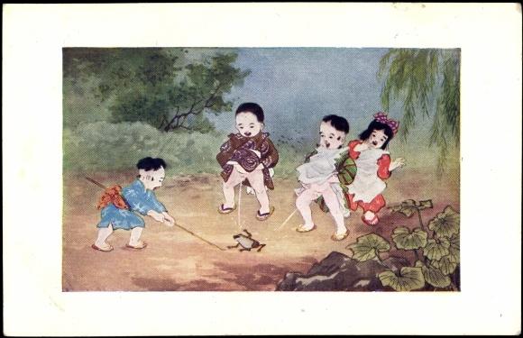 Kinder Pieseln