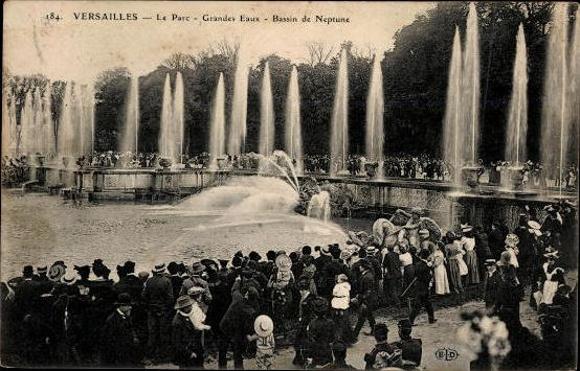 9 alte ansichtskarten versailles yvelines diverse for Versailles yvelines
